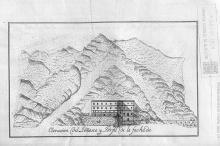 Ilustración del establecimiento de Baños de Arnedillo